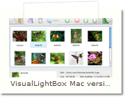 jQuery Lightbox Mac version - Main Window